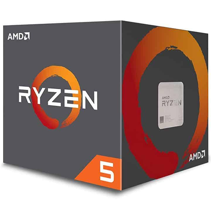 CPU: AMD Ryzen 5 2600