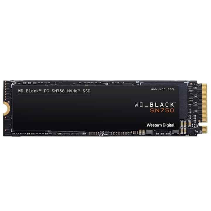 WD Black SN750 NVMe 1TB