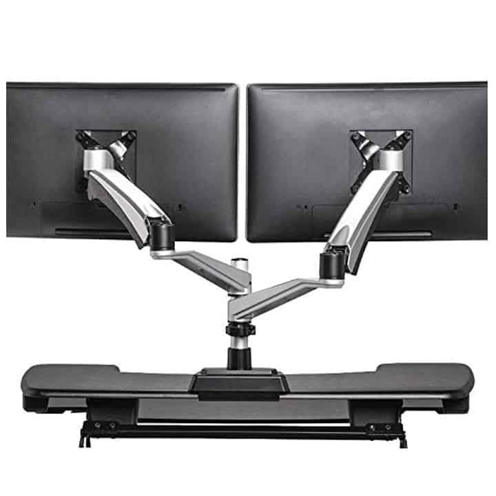 Varidesk Dual Monitor Arm